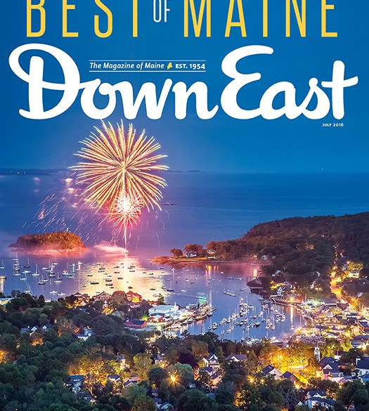 down east july 2016 cover
