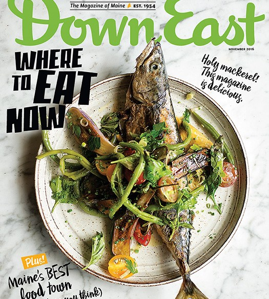 down east november 2016 cover
