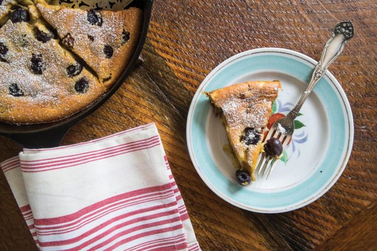 Cherry Clafoutis Dessert