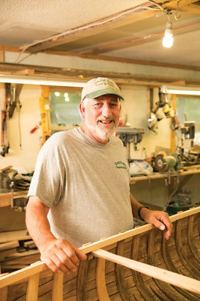 Hunting guide and canoe artisan Dale Tobey.