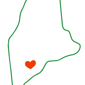 Maine heart Pattern