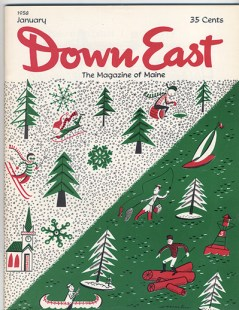 January 1958 cover