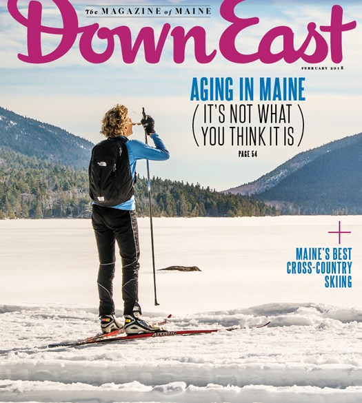 Down East Magazine February 2018 Cover