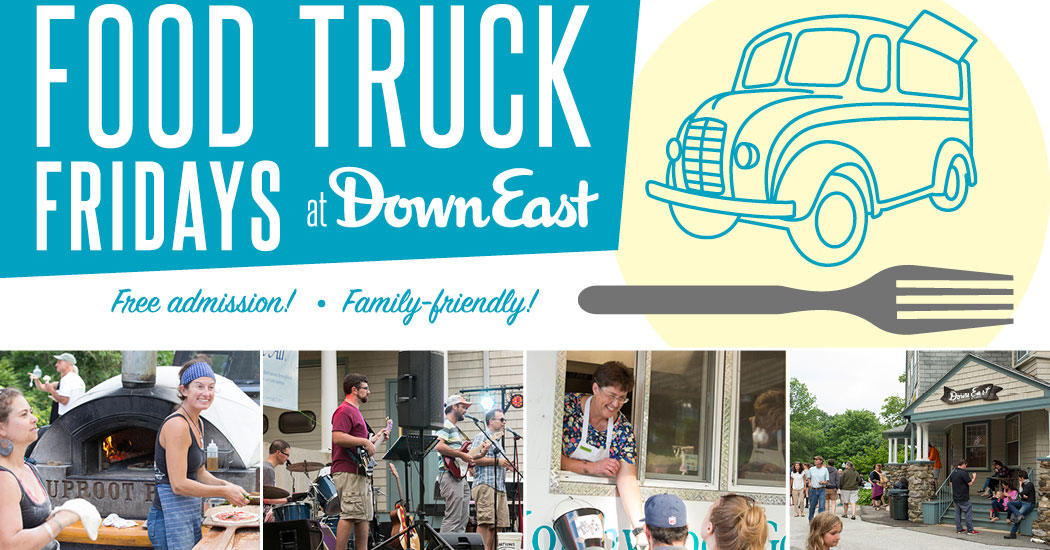 Food trucks in Maine at Down East magazine in Rockport