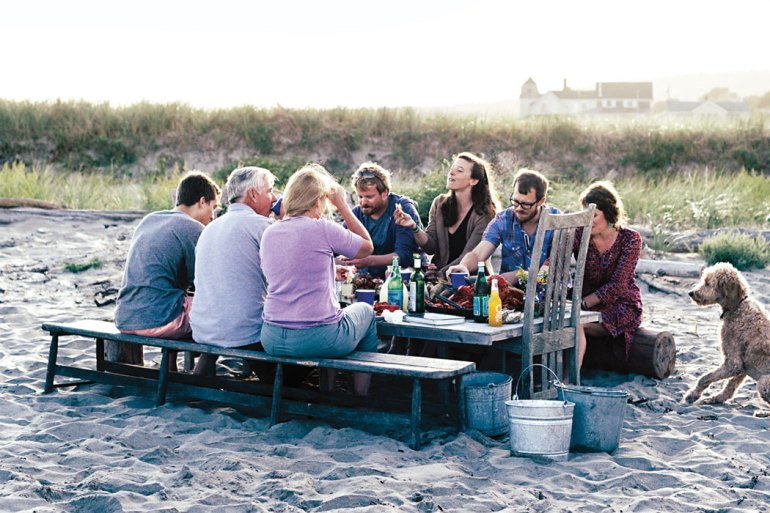 An authentic Maine clambake