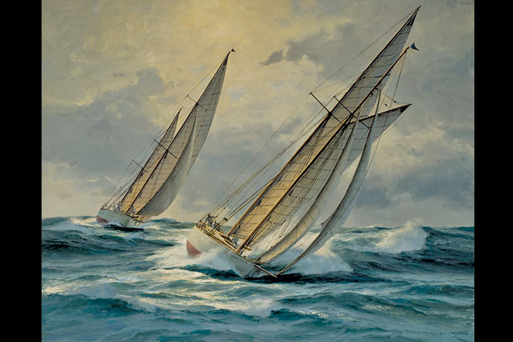 Donald Demers's, Into the Gulf Stream, at the Gallery at Somes Sound