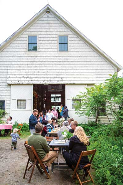 agritourism in Maine