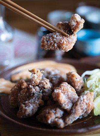 """""""JFC,"""" or Japanese fried chicken."""