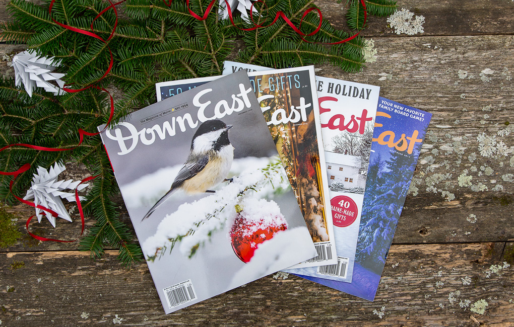 Down East gift subscription