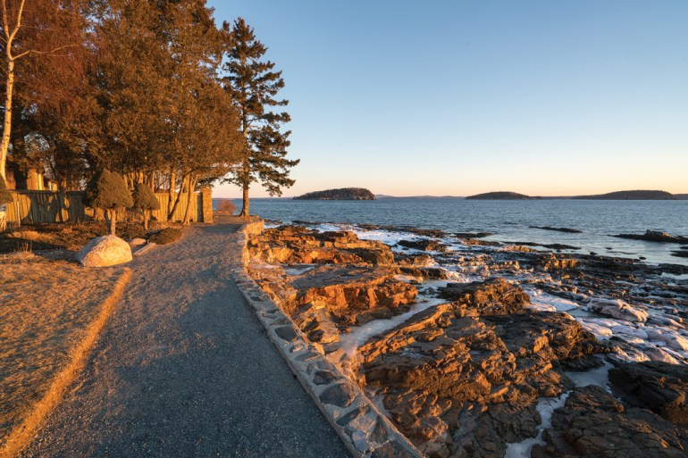 Bar Harbor Shore Path