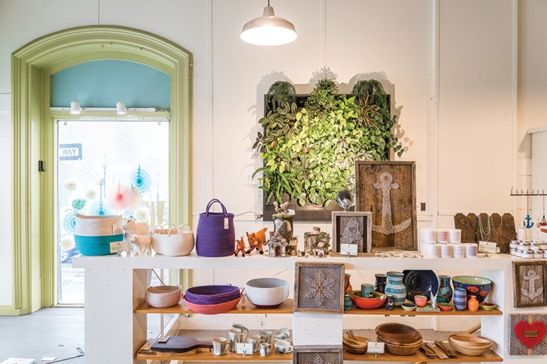 Whimsical gifts and vintage goods at Hatch in Brunswick