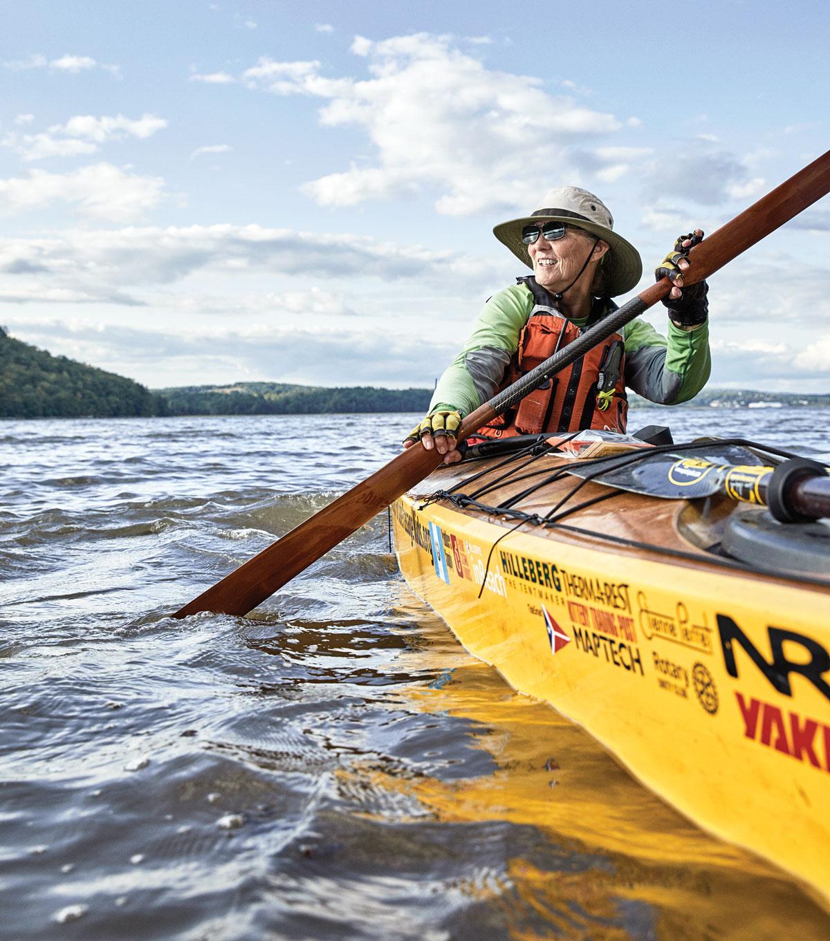 Maine boatmen, Dr. Deborah Walter