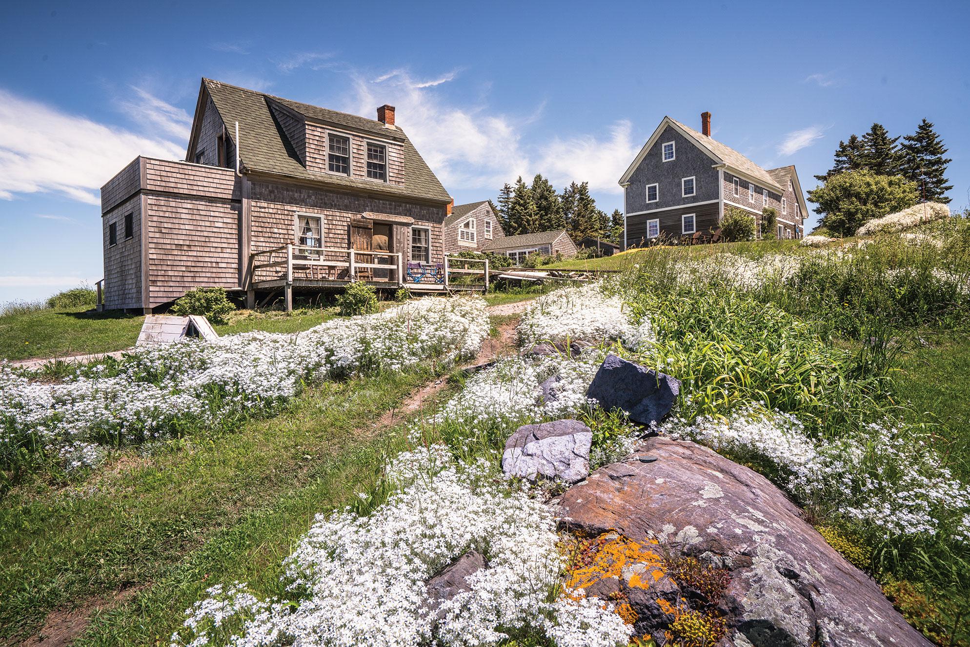Dooryard Gardens, Monhegan Island, Maine