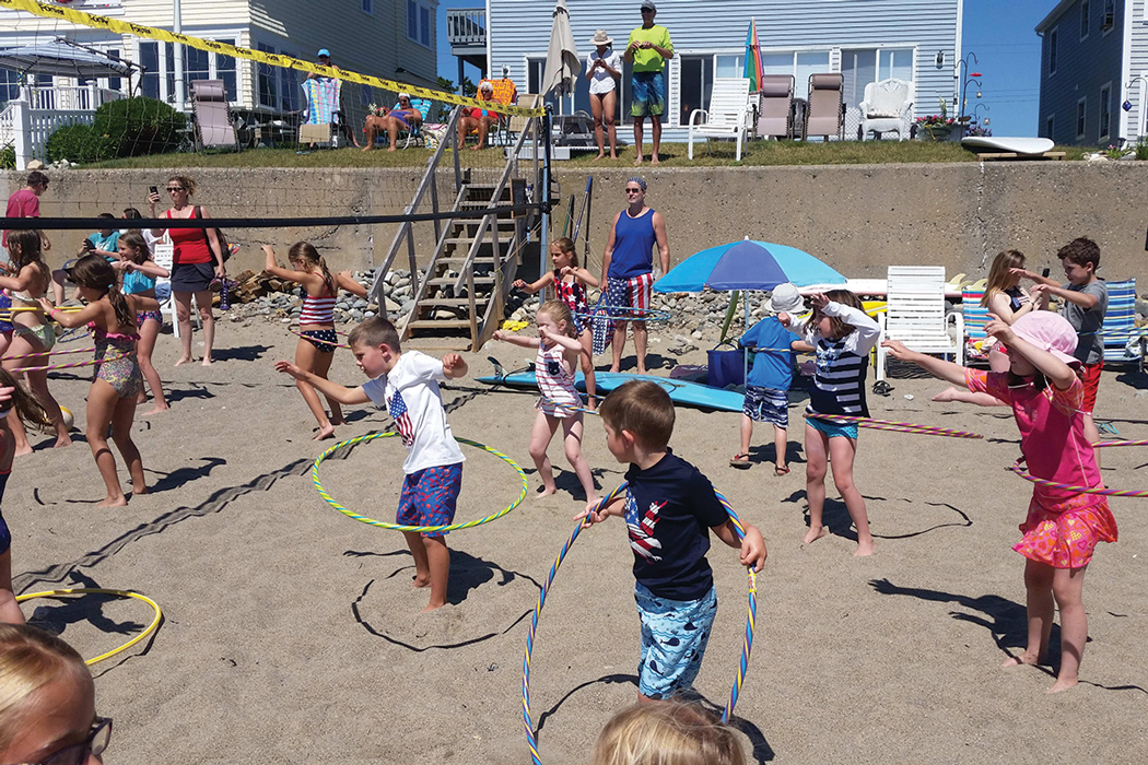 Moody Beach Association's annual Fourth of July games