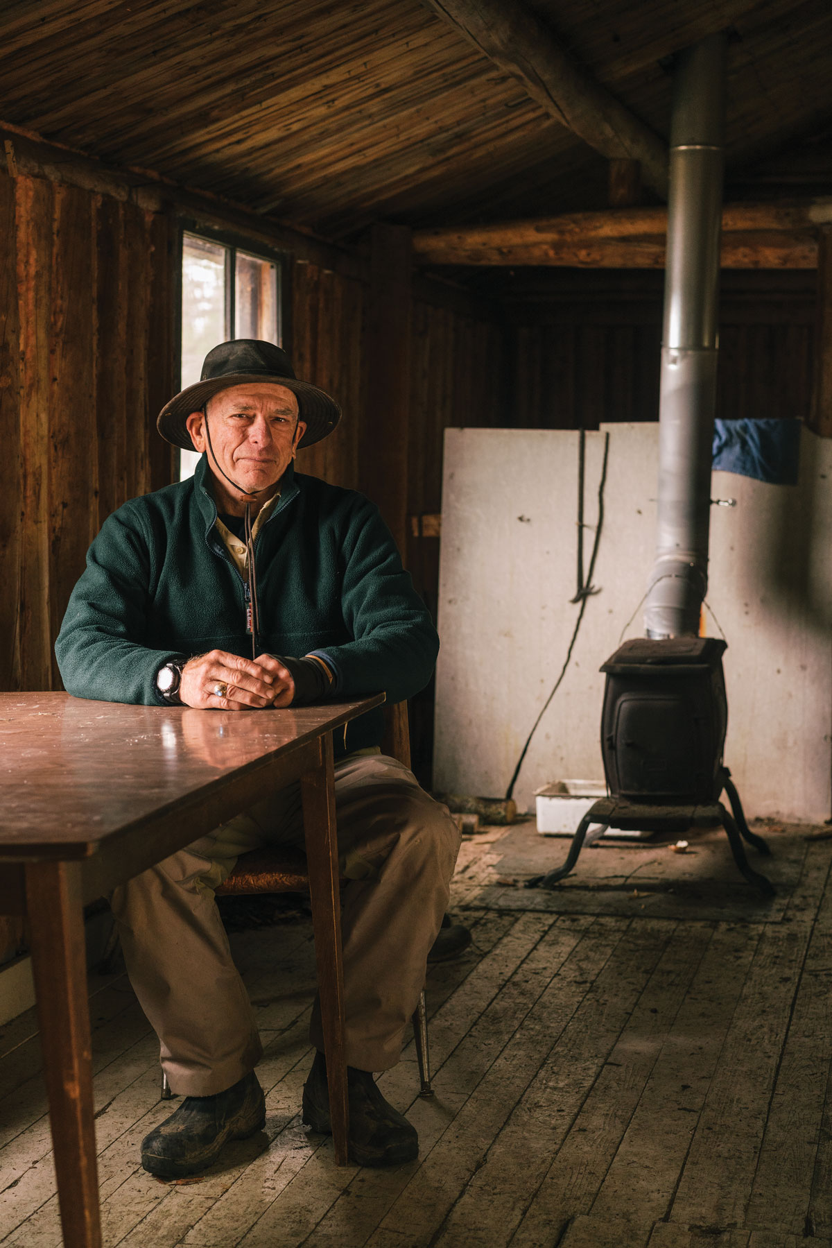 Master Maine Guide Larry Totten