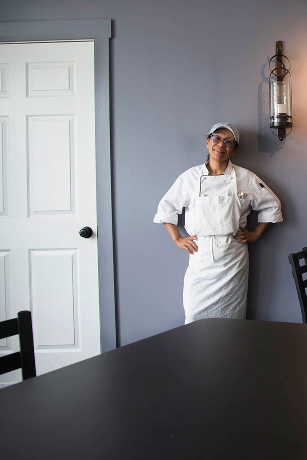 Chef Marilou Ranta runs The Quarry restaurant in a space leased to her by Libra