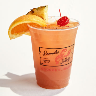 Barnacle Billy's Special Rum Punch