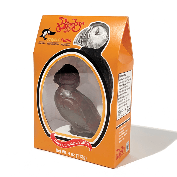 Bixby & Co. 3D Chocolate Puffin
