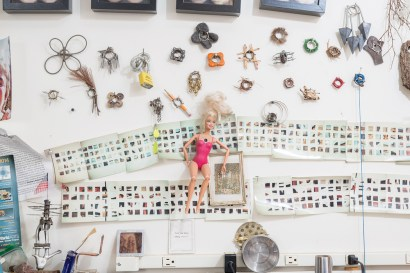 Doremus's most recent jewelry and sculpture project involves toys