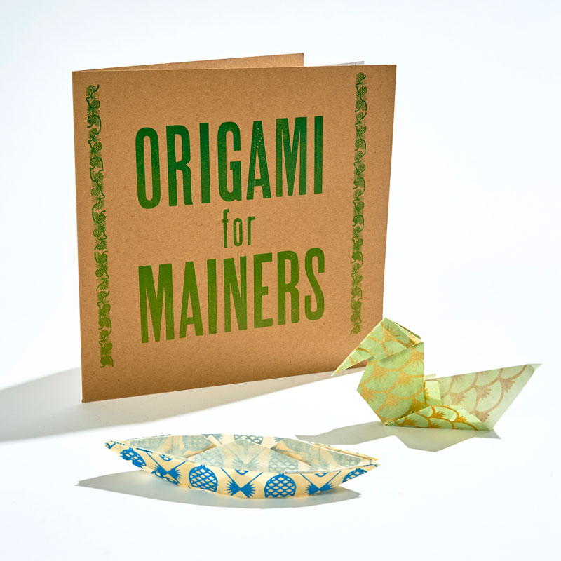 Origami Mainers