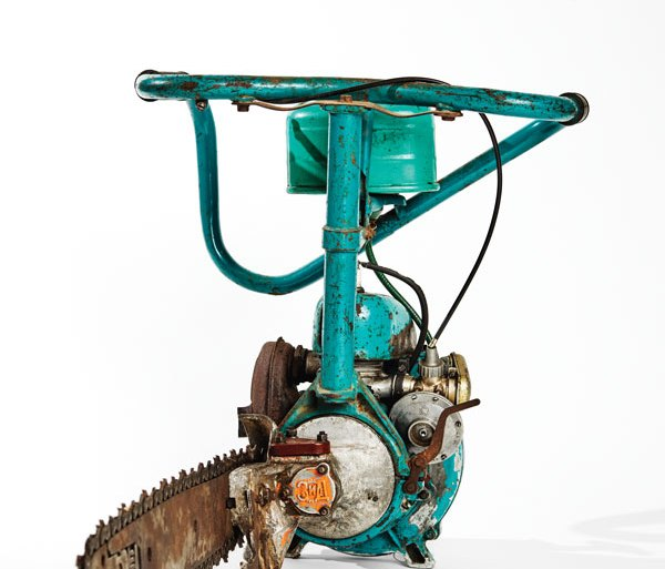 1950s Russian Druzhba chainsaw