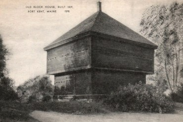 The Fort Kent Blockhouse, the only remaining Aroostook War fortification