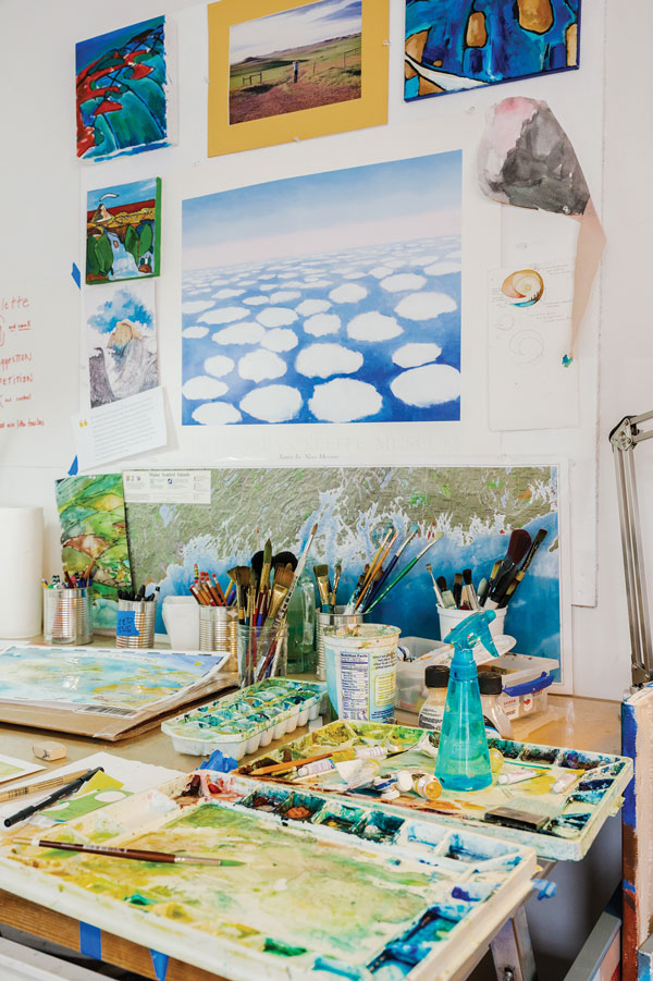 Inside the Molly's Maps studio