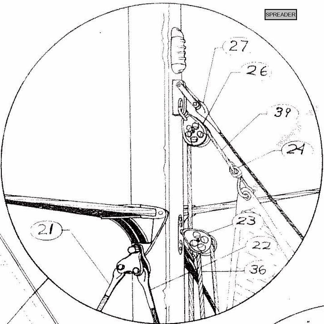 mast rigging diagram 2008 polaris outlaw 50 wiring de32 cutter running and standing rig details  downeaster