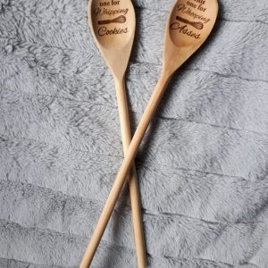 laser engraved wooden spoons-whipping whooping