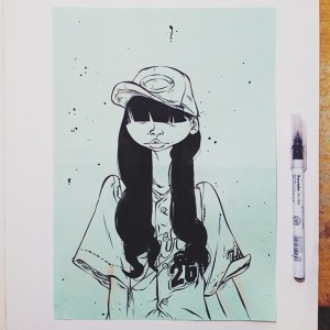 quirky drawing illustrations wei wind illustration behance downs ups character