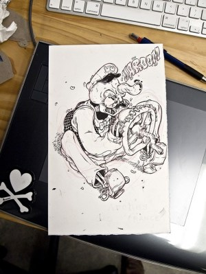 drawing wei quirky illustrations inspiration behance wind illustration downs ups 99inspiration