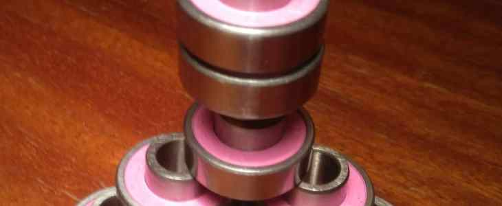 Longboard and skateboard bearings pyramid
