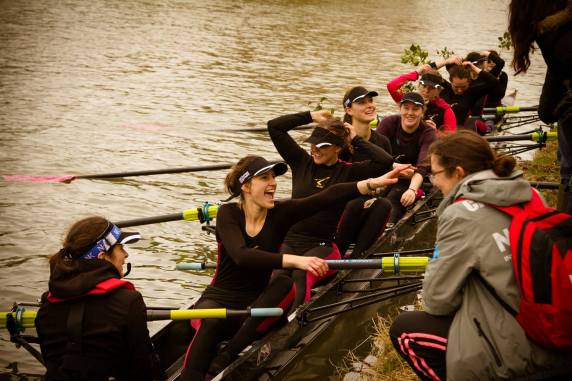 W1 collecting their foliage, day 4 Lents 2015. © QTy photography