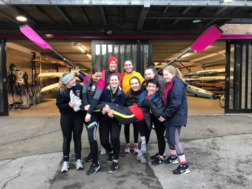 NW1 celebrating after an enjoyable Clare Novices Regatta, 2019