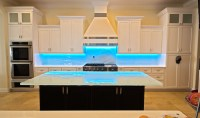 Glass Backsplash  Downing Designs