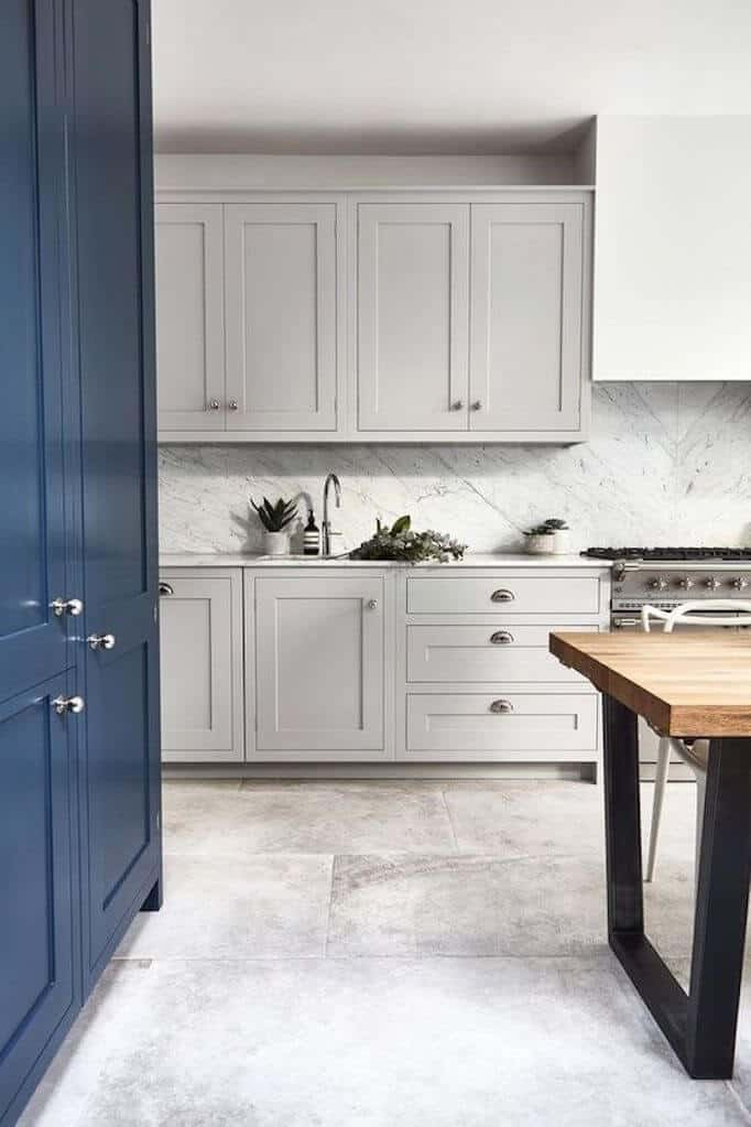 23 white kitchens without wood floors
