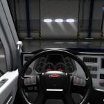 Black White Interior For Peterbilt 579 V1 0 Ats Mods American Truck Simulator Mods Ats Trucks Maps