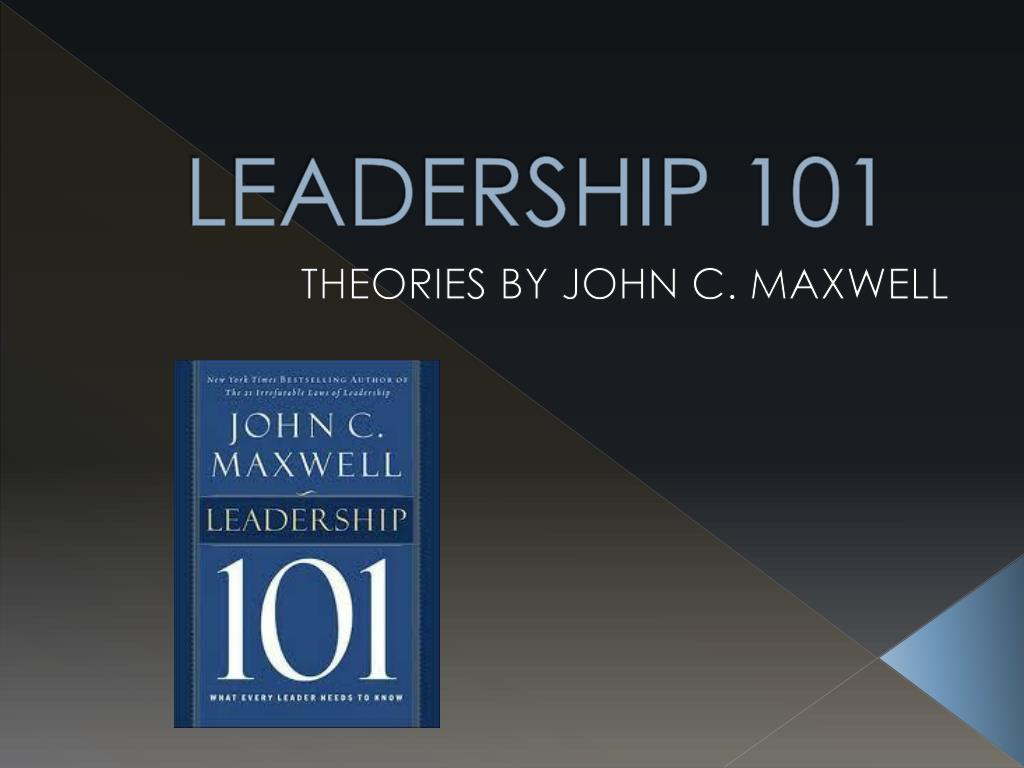 Download Leadership 101 Books