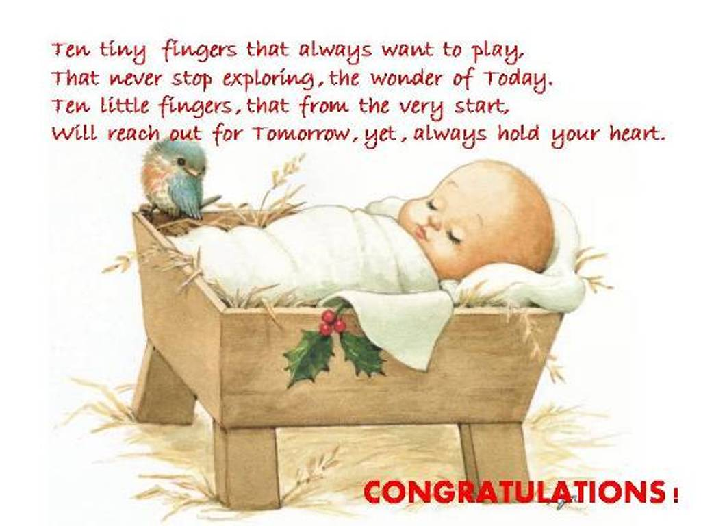 Congratulations New Born Baby Ecard For Free The Best Greeting Card For You