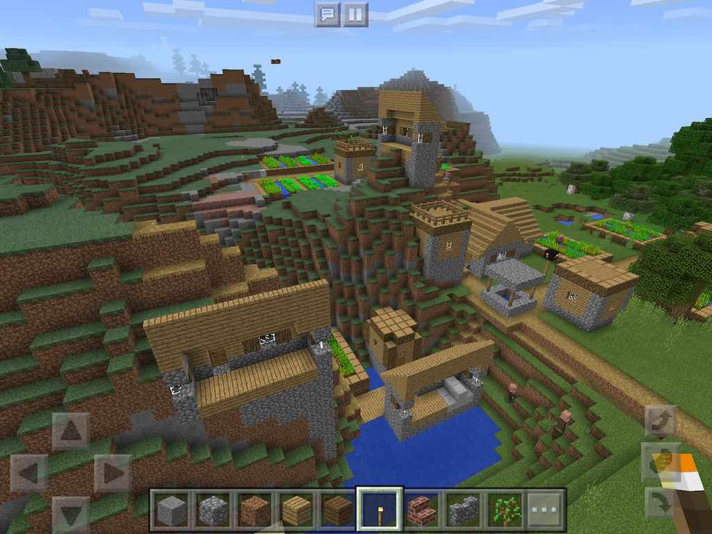 как создать новый мир с деревней в майнкрафте #7