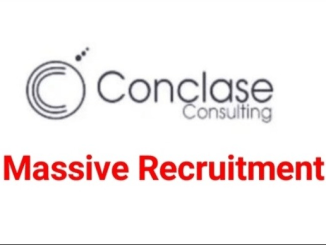 Conclase Consulting Job Recruitment Vacancy 2021 (38 Positions)