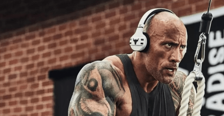 The Rock (Yes, That Rock) Is Launching His Own Headphones