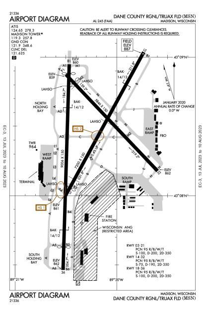 Dane County Regional-Truax Field Airport-MSN-AOPA Airports