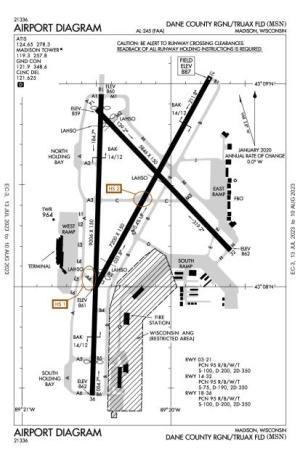 Dane County RegionalTruax Field AirportMSNAOPA Airports