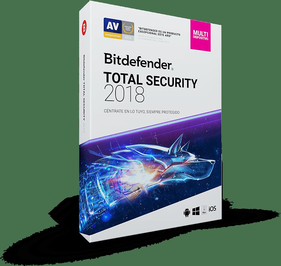 Resultado de imagen de Bitdefender Total Security 2018