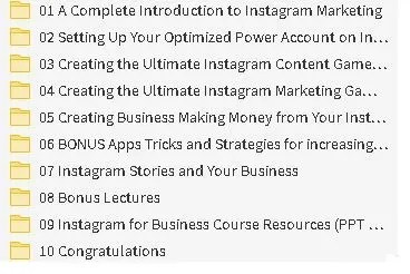 Instagram Marketing 2019: A Step-By-Step to 10,000 Followers Course Free Download 1