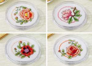 Cross stitch patterns FREE download in PDF file with flowers
