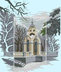 Cross stitch pattern to FREE download instantly in PDF file, with lanscape