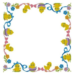 Cross stitch pattern to FREE download instantly in PDF file, with Easter drawings