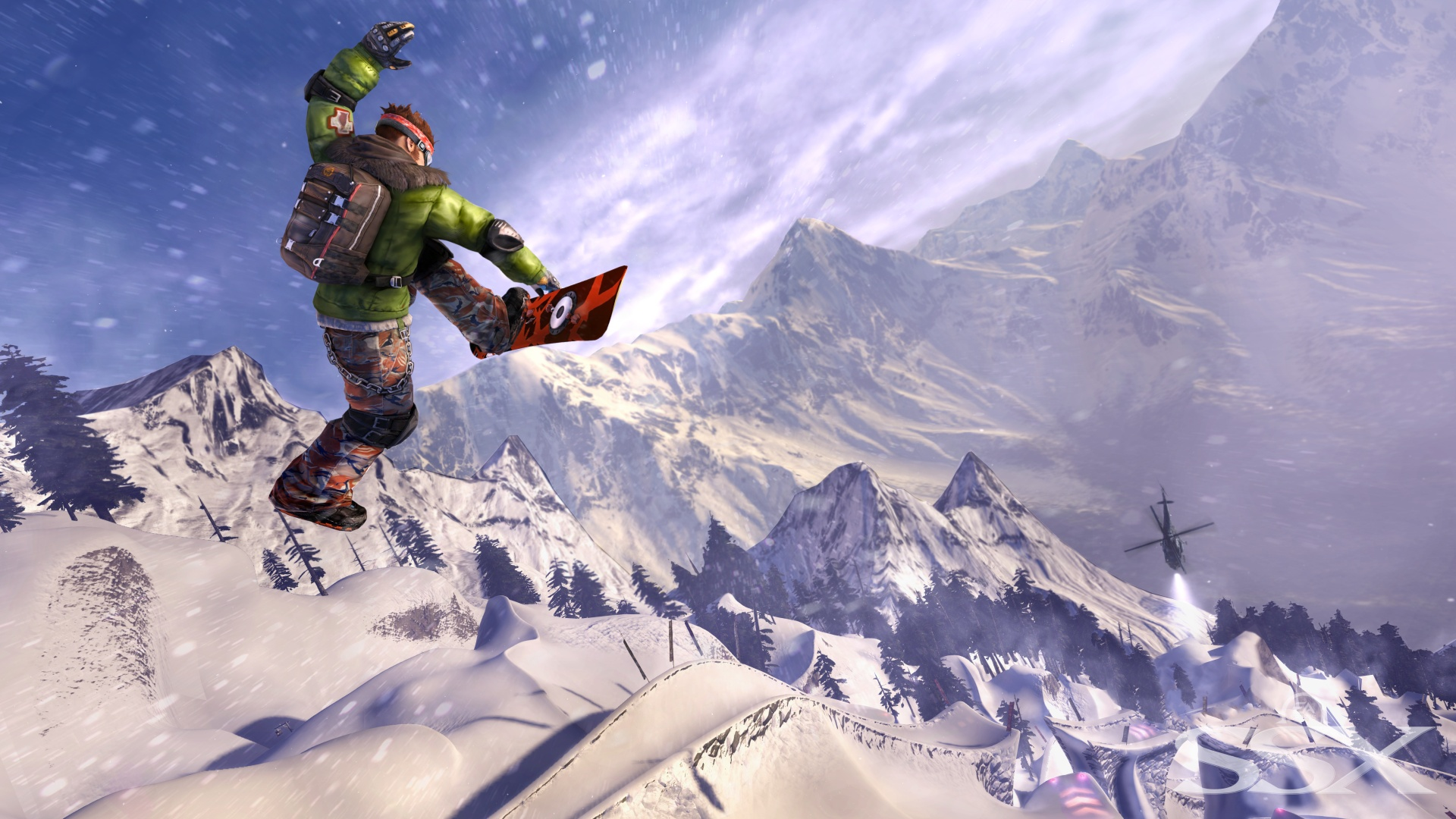 Snowboard Girl Wallpaper Ssx Review